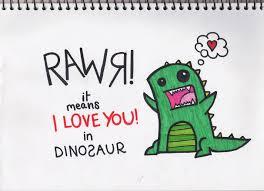 We speak dinosaur by CuriouslyEm on DeviantArt
